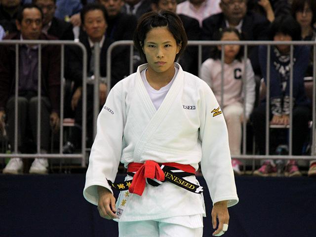 女子57kg級決勝戦_松本薫vs山本杏�@