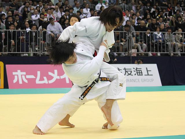 女子57kg級決勝戦_松本薫vs山本杏�A
