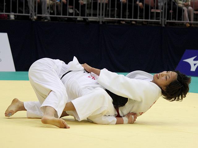 女子57kg級決勝戦_松本薫vs山本杏�C