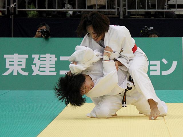 女子57kg級決勝戦_松本薫vs山本杏�D