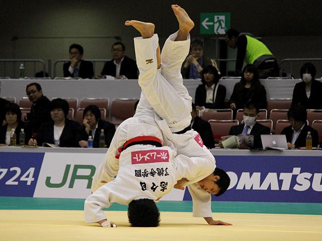60kg級 志々目徹 vs 永山竜樹