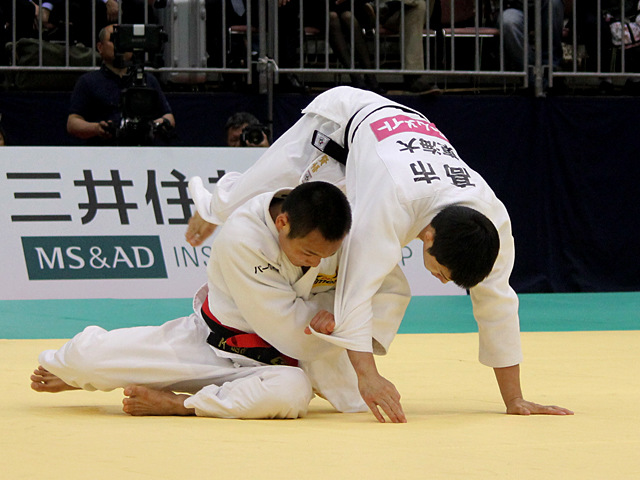 平成27年全日本選抜柔道体重別選手権大会 男子66kg級 決勝 海老沼匡 vs 高市賢悟�B