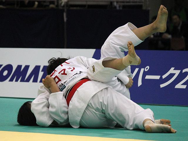 63kg級 田代未来 vs 田中美衣
