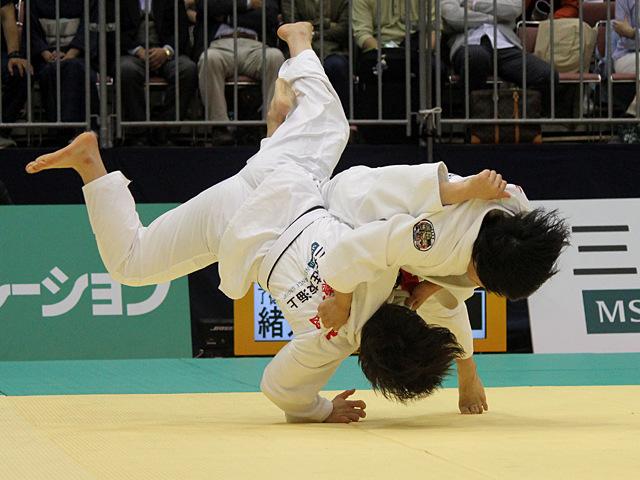 78kg級 濱田尚里 vs 緒方亜香里