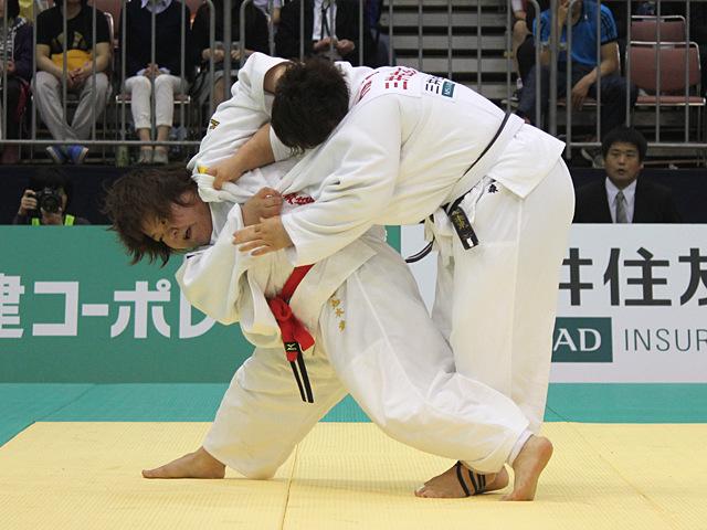 78kg超級 田知本愛 vs 稲森奈見