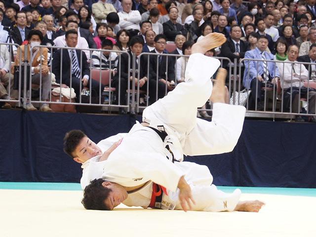 男子90kg級1回戦 ベイカー茉秋vs大橋賢人