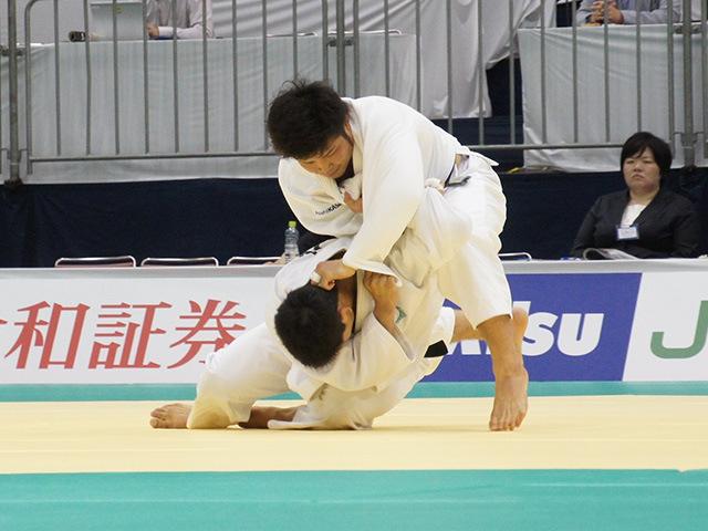 男子90kg級1回戦 大辻康太vs小林悠輔