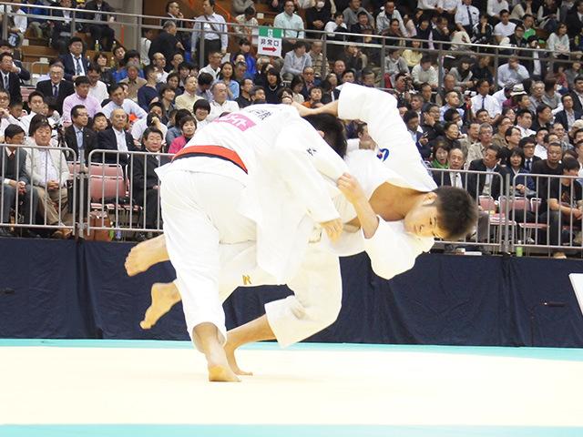 男子100kg級準決勝戦 穴井亮平vs下和田翔平