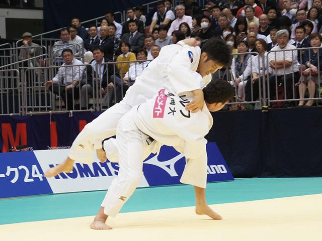 男子100kg級決勝戦 ウルフアロンvs下和田翔平�A