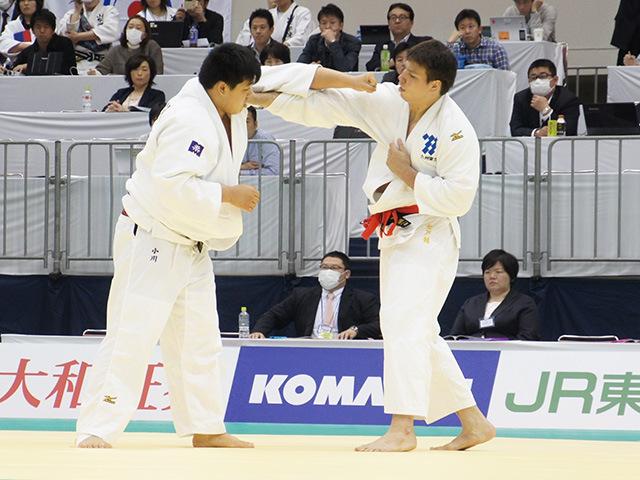 男子100kg超級準決勝戦 七戸龍vs小川雄勢�@