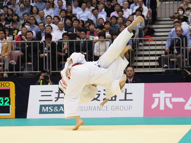 男子100kg超級決勝戦 七戸龍vs原沢久喜�B