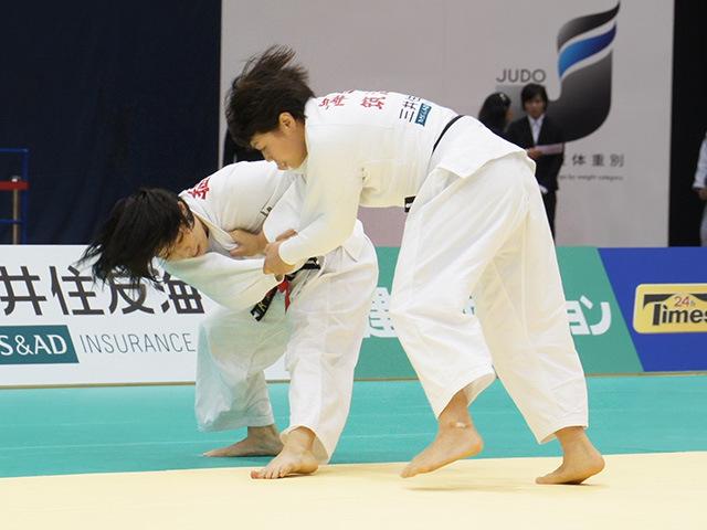 女子63kg級決勝戦 能智亜衣美vs津金恵�@