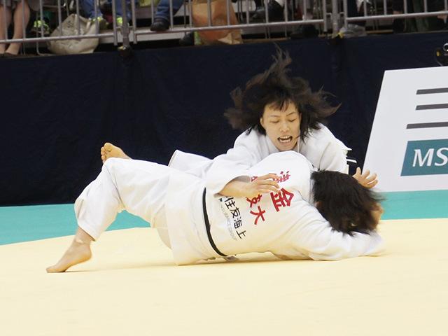女子63kg級決勝戦 能智亜衣美vs津金恵�C