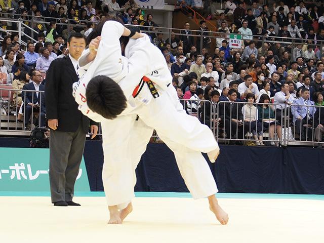 女子78kg級準決勝戦 梅木真美vs緒方亜香里