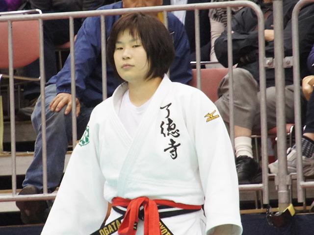女子78kg級決勝戦 緒方亜香里vs佐藤瑠香�@