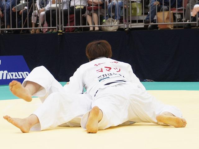 女子78kg級決勝戦 緒方亜香里vs佐藤瑠香�A