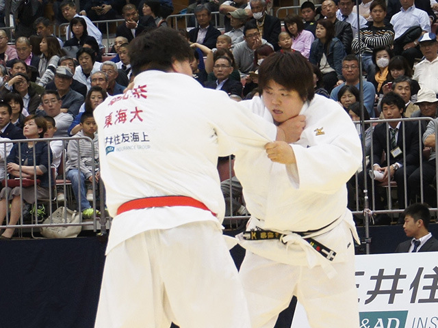 女子78kg超級決勝戦 朝比奈沙羅vs山部佳苗�B