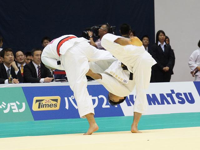 66kg級 高上智史 vs 丸山城志郎