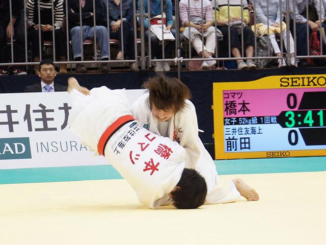 52kg級 前田千島 vs 橋本優貴