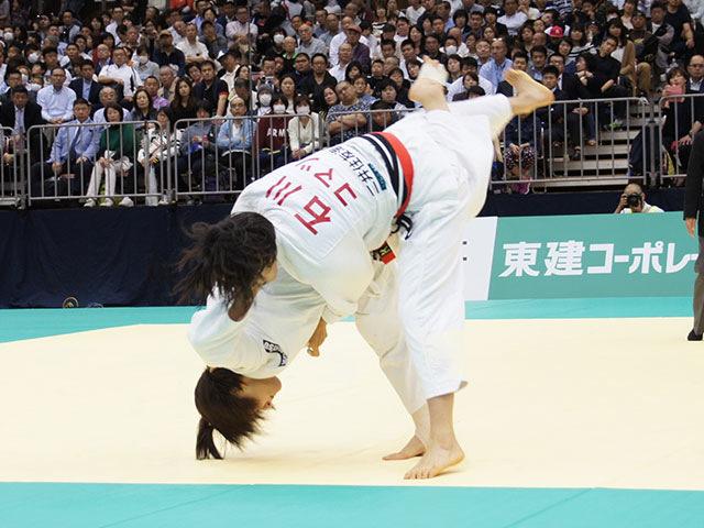 57kg級 芳田司 vs 石川慈