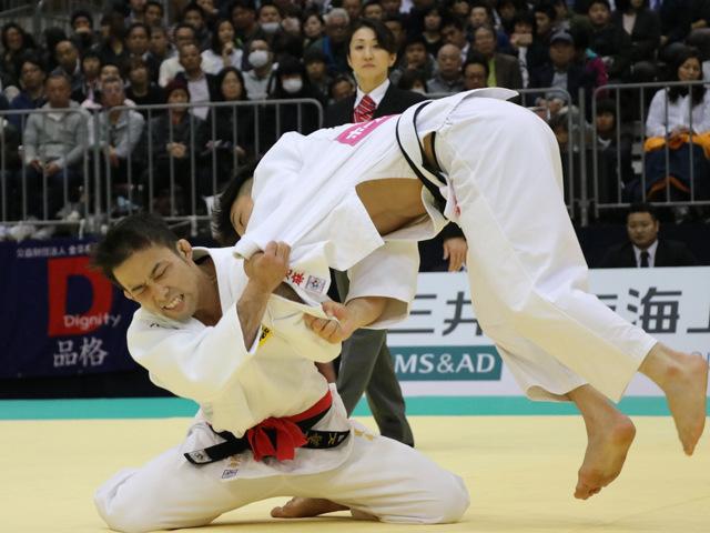 男子60kg級 高藤直寿 vs 米村克麻
