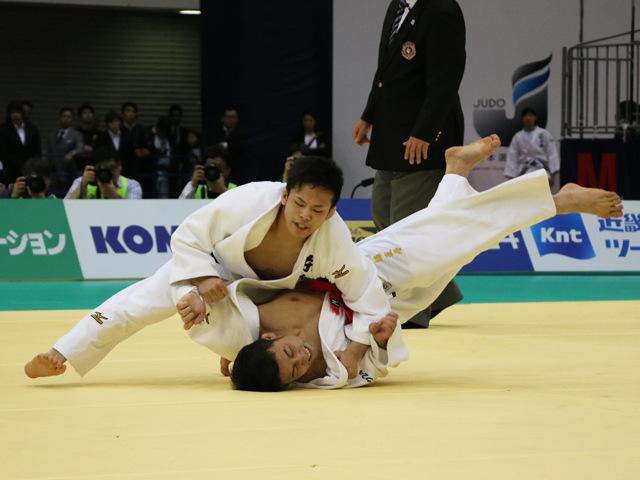 男子60kg級 高藤直寿 vs 永山竜樹