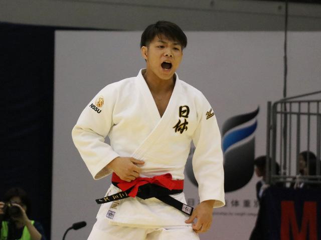 大会レポート「男子66kg級、阿部が大会連覇達成!」