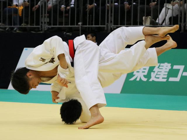 男子66kg級 阿部一二三 vs 高市賢悟