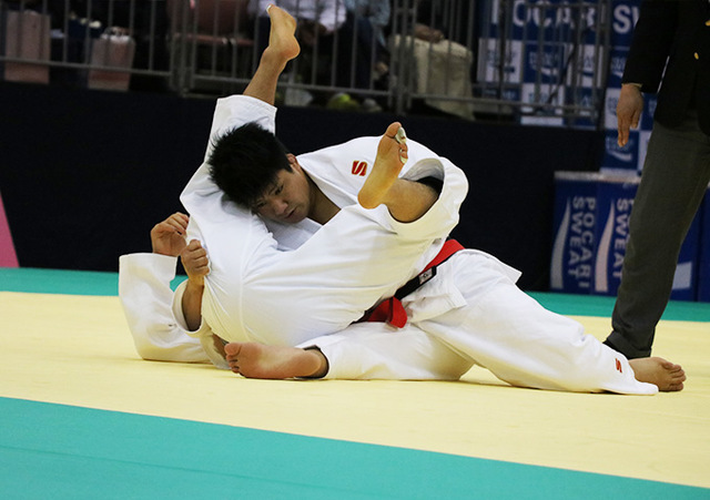 男子90kg級 加藤博剛 vs 長澤憲大