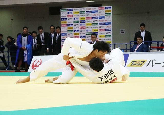 男子100kg級 羽賀龍之介 vs 下和田翔平