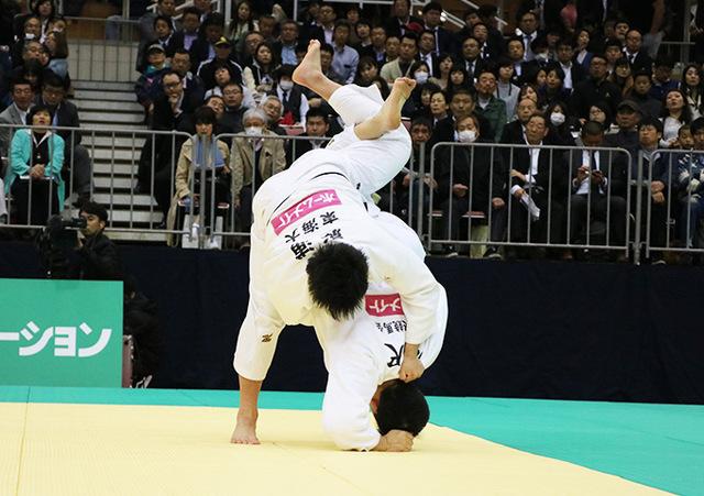 男子100kg超級 原沢久喜 vs 影浦心