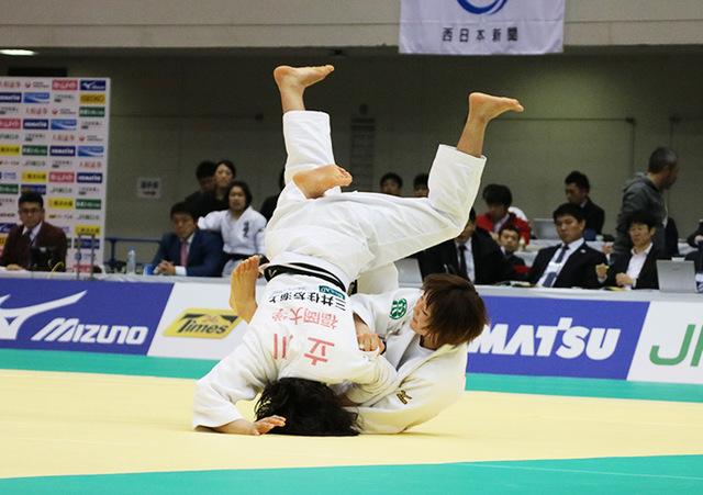 女子52kg級 角田夏実 vs 立川莉奈