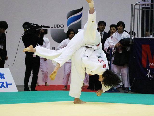 女子63kg級 田代未来 vs 工藤千佳