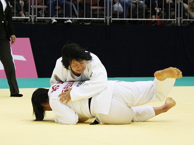 女子78kg級 濱田尚里 vs 和田梨乃子