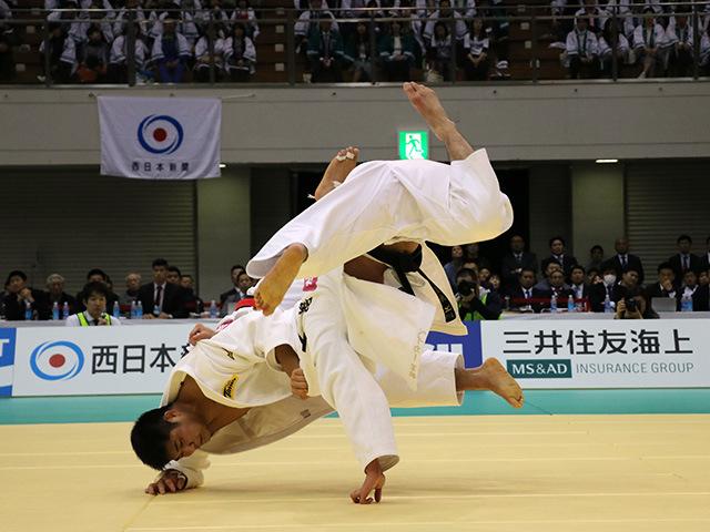 男子90kg級 長澤憲大 vs ベイカー茉秋�A