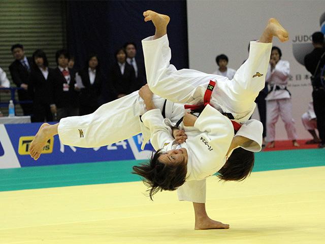 女子48kg級 渡名喜風南 vs 坂上綾