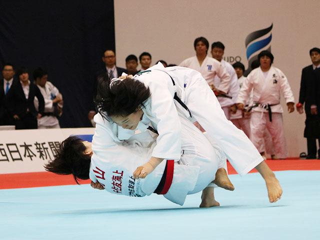女子78kg級 ��山莉加vs泉真生