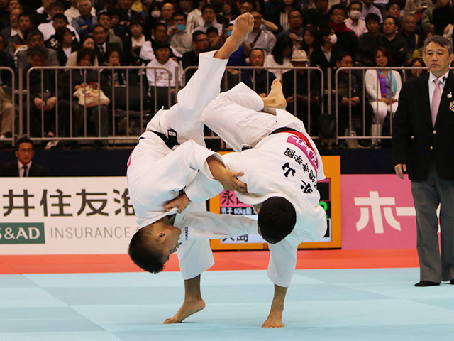男子60kg級 永山竜樹vs大島優磨