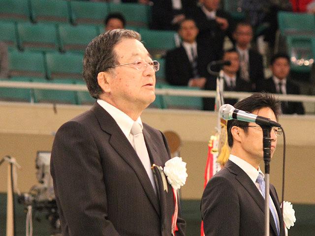 全日本柔道連盟 宗岡正二会長挨拶