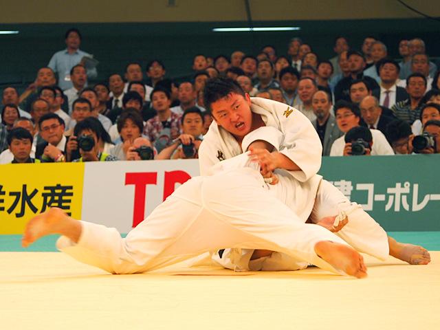 原沢久喜 vs 七戸龍�A