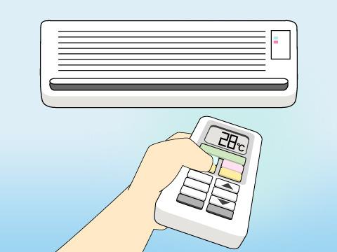 エアコンの使い方
