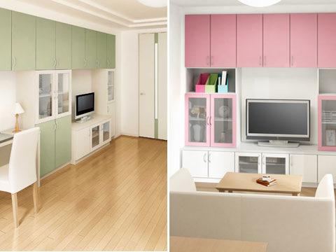 「家具付アパート用プラン」の開発