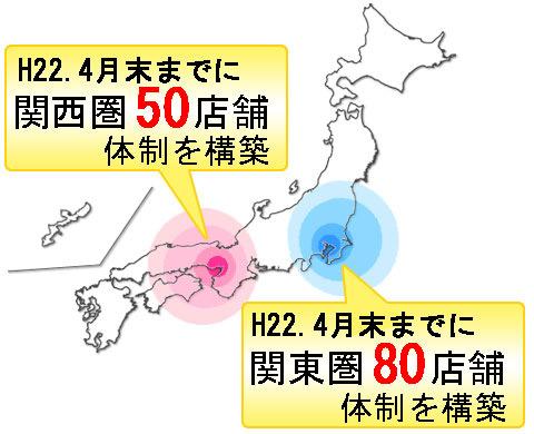 「成長率日本一」を目指し出店スピードを加速!