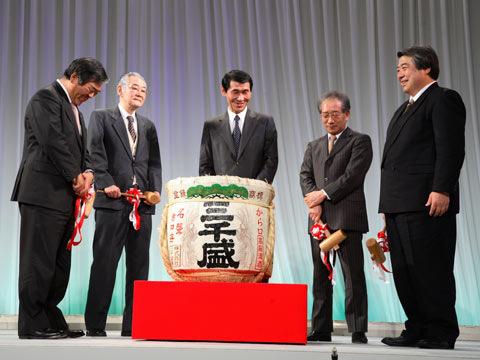 2007年東建グループ忘年会にて