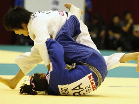 中村美里(52kg級)