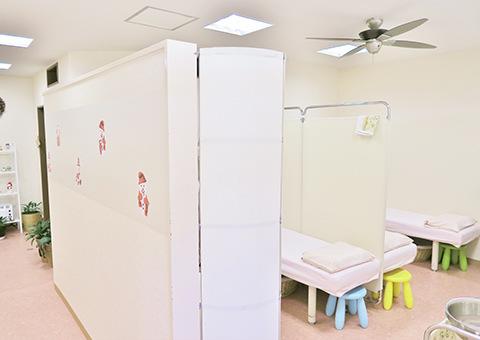 「杉田整骨院」施術室の写真