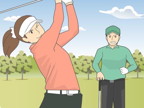 ゴルフと恋
