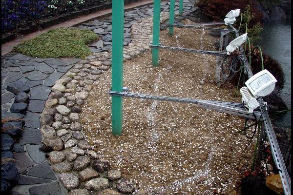 庭園改善美化作業実施中