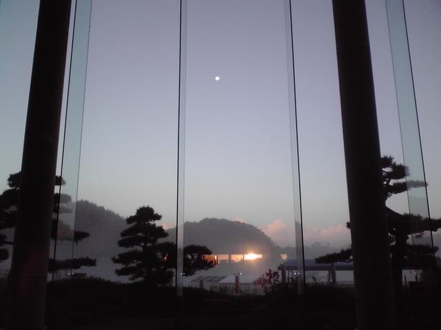 夜明け前の競演!!