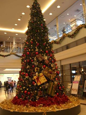 街中はクリスマスのイルミネーションでいっぱい!